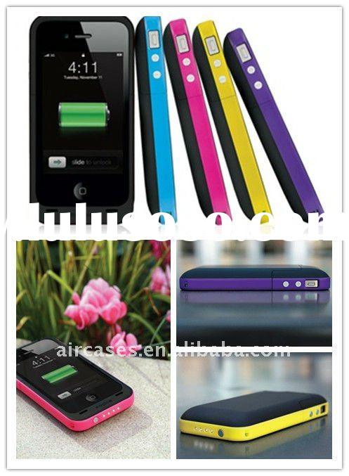 portable external backup battery for iphone4 2000mah