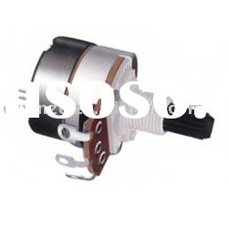 potentiometer with switch--plastic bushing