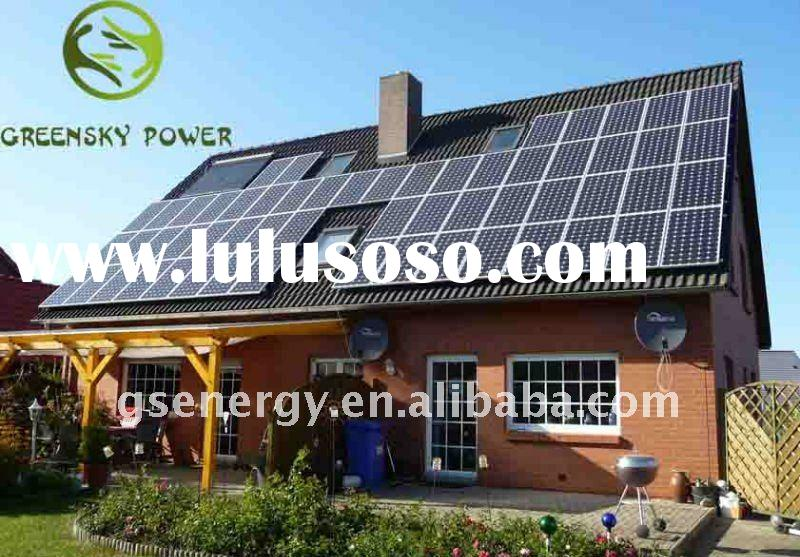 power supply solar panels for home use