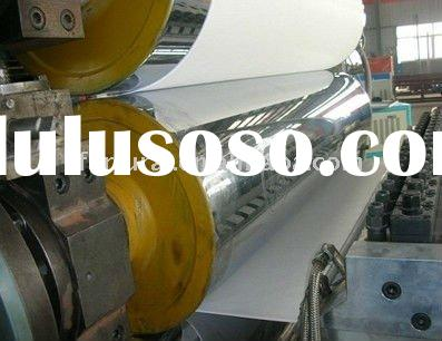 pvc rigid sheet extrusion machine
