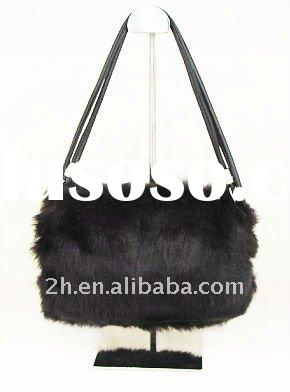 rabbit fur hand muffs/bag use FST003