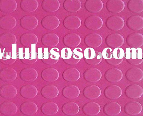 round coin rubber sheet