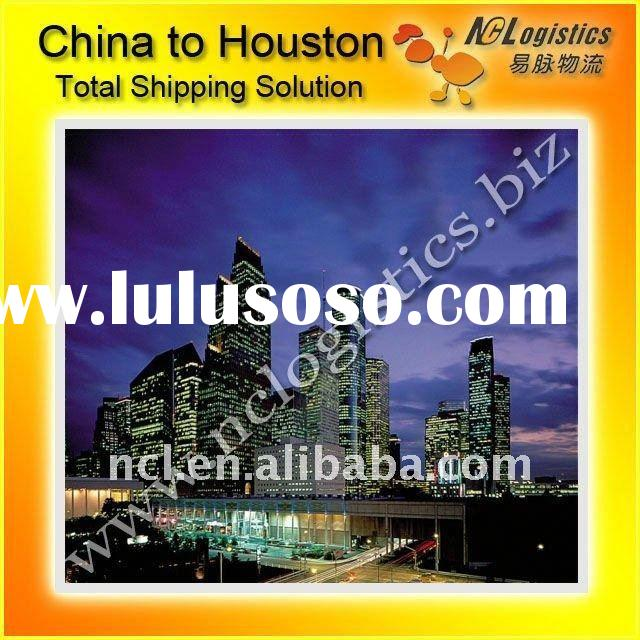 shipping cost from China to HOUSTON,TX,USA