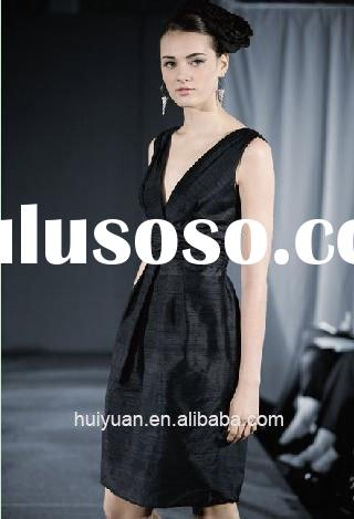 short black evening dress