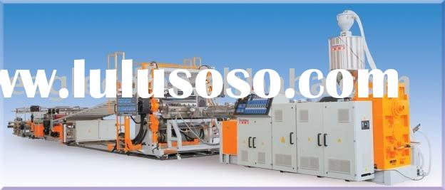 supply HIPS ABS PVC Sheet extrusion line