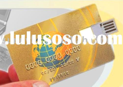 thinnest 0.19cm credit card USB flash drive,best promotion gifts(SU503)