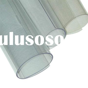 transparent PVC plastic sheet