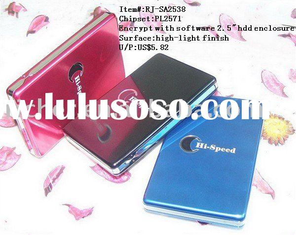 usb2.0 2.5inch sata external hard disk drive HDD case enclosure