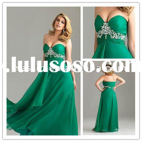 vibrant plus size strapless chiffon beaded long evening dress
