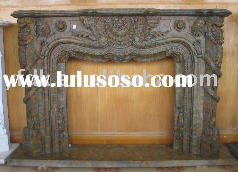 Western Marble Decorative Fireplace Mantel Surround For Sale Price China Manufacturer Supplier