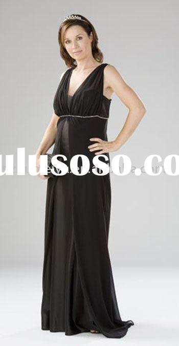 wholesale high quality fashion maternity evening dress PE80031