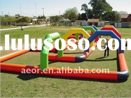 2011 NEW INFLATABLE SPORTS & GAMES - INFLATABLE RACE TRACK FOR GO KARTS, TURBO BIKES, PEDAL CARS