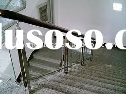 4mm tempered glass stair handrails