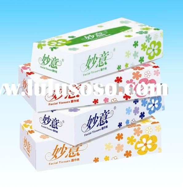 Facial Tissue Travel Box