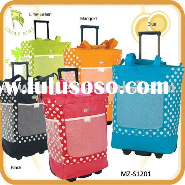Hot selling rolling shopping bag
