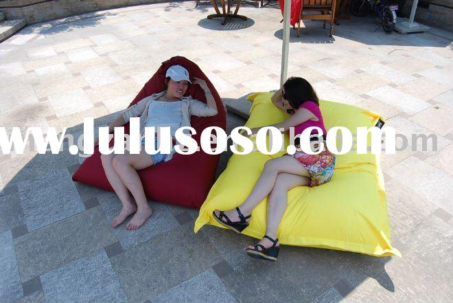MZ090103.sack beanbag sofa bed made of 100% recycle PET