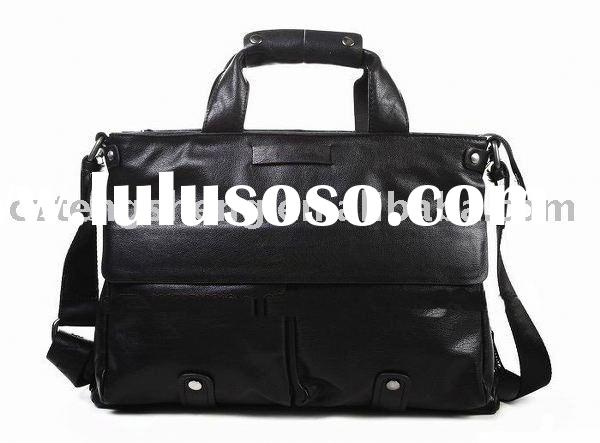 OEM/ODM+MOQ1+free shipping-Wholesale business laptop bag,100% genuine leather,fashion men's