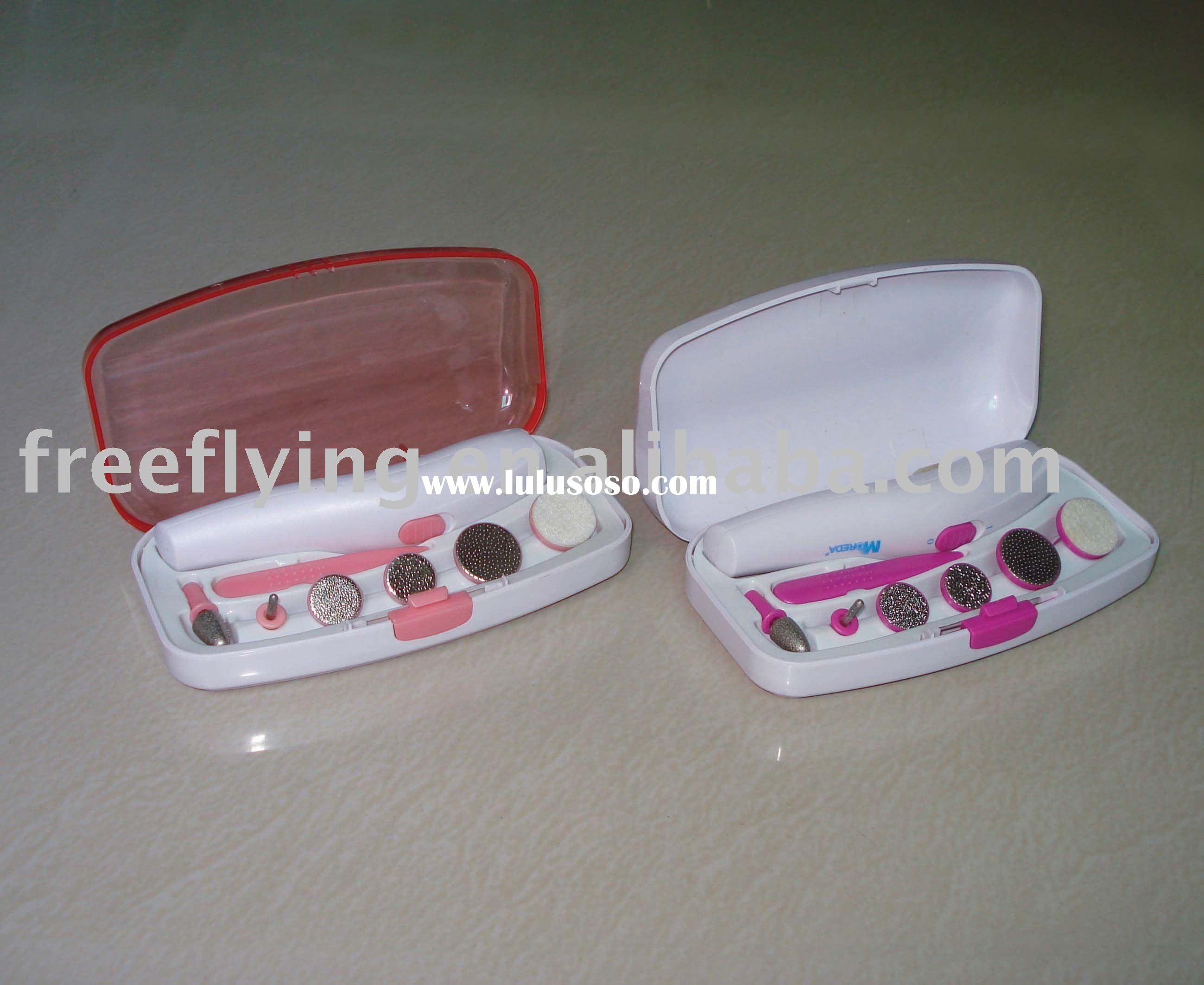Professional manicure and pedicure set, nail polisher and nail dryer, nail care kit