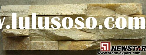 Sell Culture Slate Cladding Wall, Natural Slate Tile, Tumbled Slate tiles, Yellow Sandstone, Quartz