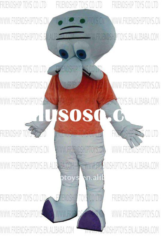 Squidward Tentacles mascot costumes china