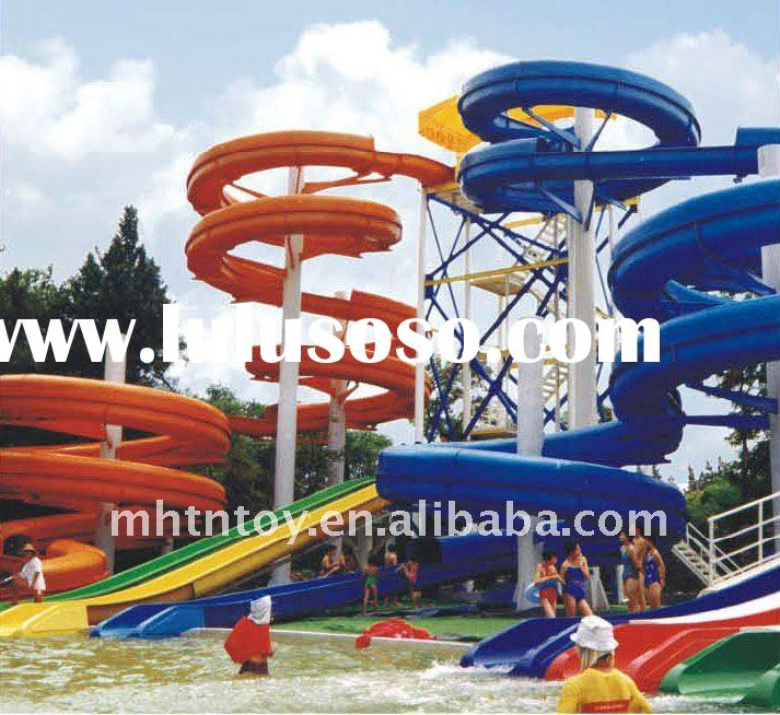 Water Park Supplies Fibreglass Slide--Largest Supplier In South China