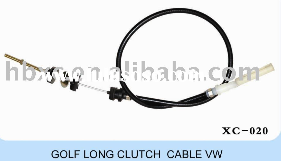 auto control cables , long clutch cable for VW Golf