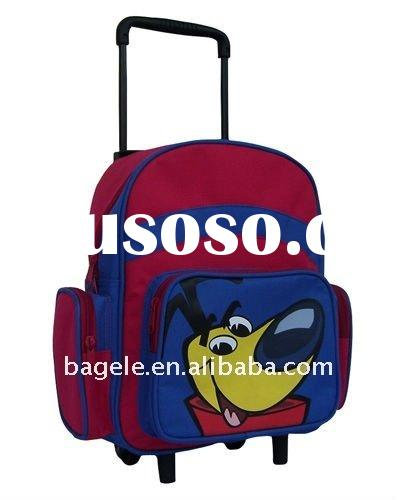 best selling kids school bag with wheels