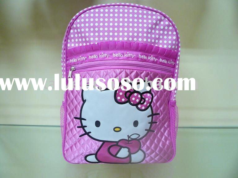 popular style hello kitty school bags for kids(KY-00025)