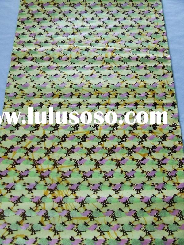 100% cotton pearl wax fabric, African printed popular pattern