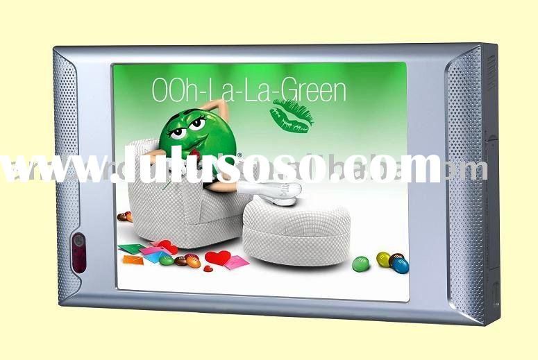 "10"" Ad Video Display, LCD Digital Monitor, Digital Signage Player with IR motion sensor, LCD Ad"