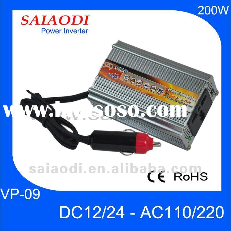 12V Micro Car Power Inverter 110V 220V
