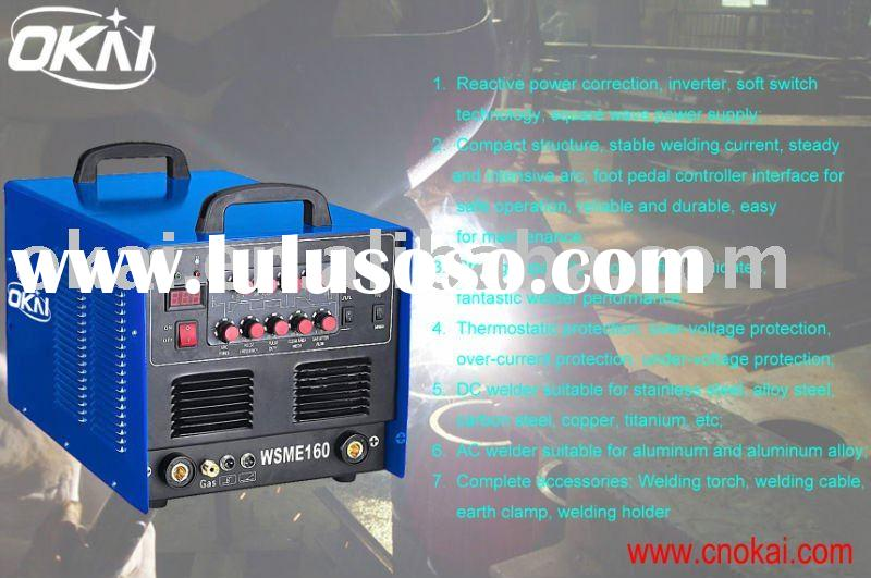 160 amp,240V AC DC TIG-MMA Welding Machine for Aluminum