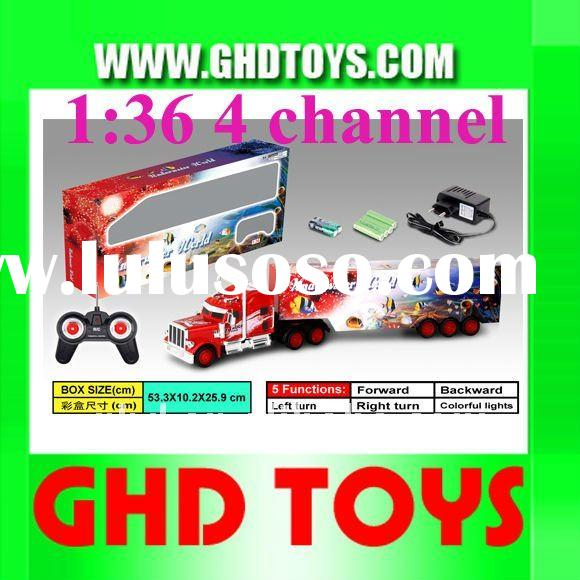 1:36 4channel remote control tractor trailer truck rc car toy