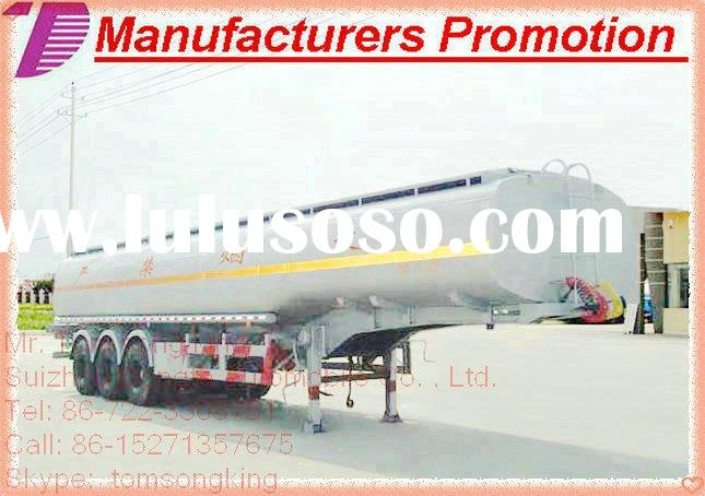 2010 DTA 2/3 Axle semi trailer OEM trailer tank for water liquid fuel, crude oil ,chemical,asphalt.b