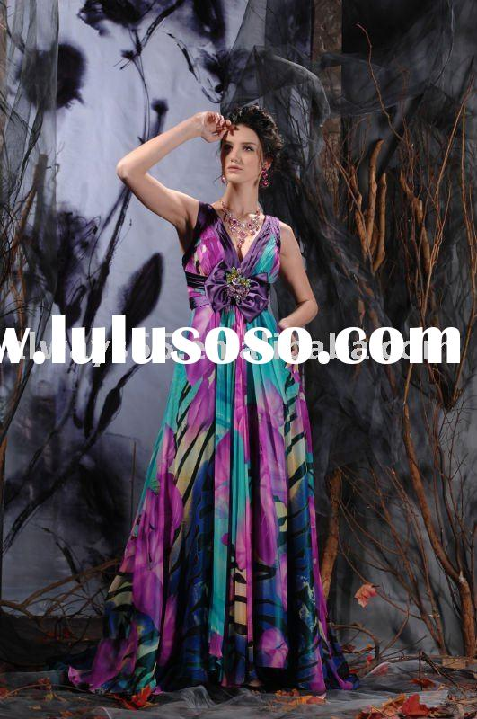 2010 fashion arabic evening gowns dresses chjk-020