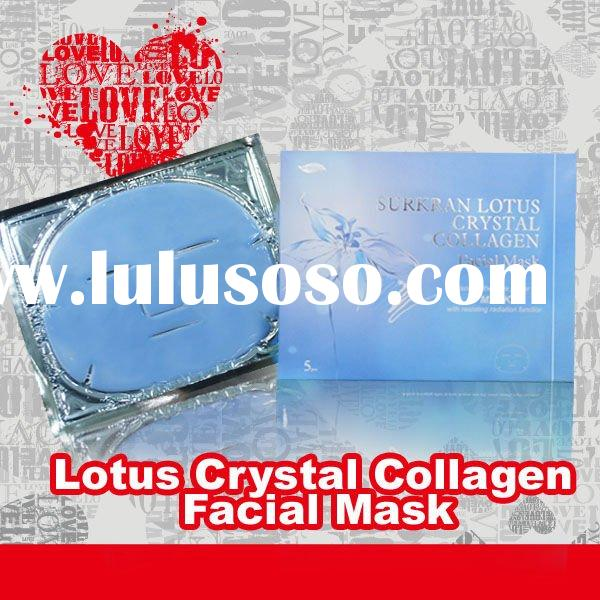 2011 Hot! Lotus Anti-radiation Collagen Facial Mask Beauty Product