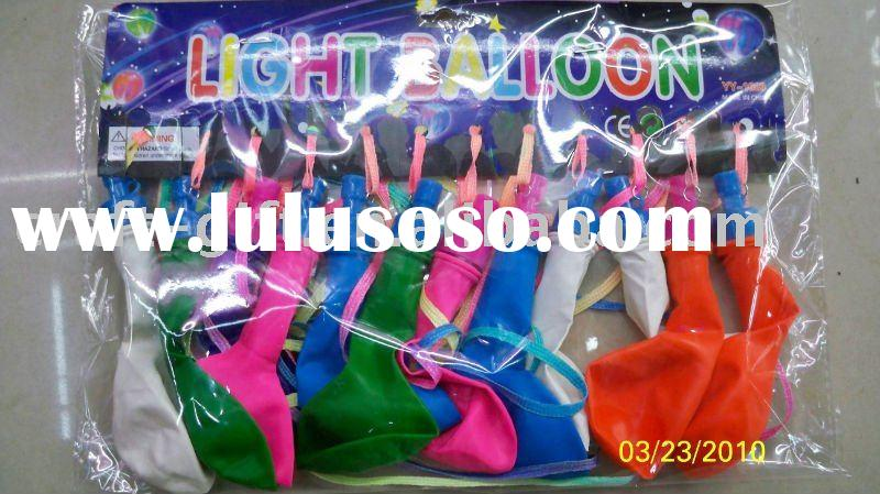 2011 Hot party decoration LED flashing Led balloon can be wholesale