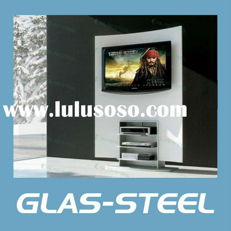 2011 Living Room Modern TV Stand Glass LCD TV Wall WC-ST179