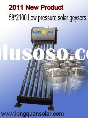 2011 New Product Extended Type Solar Energy Geyser