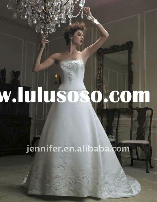 2011 New designer discount wedding dresses( hs328)