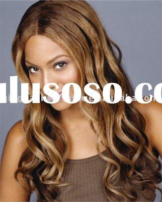2011 PopularHot Sale WAVE 22 Beyonce style Front lace wig