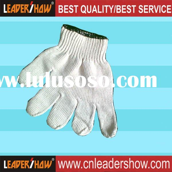 2011 high-quality cotton working gloves