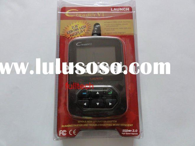 2011 newest Launch OBD II code reader,color screen Creader 6,online update Launch Creader VI