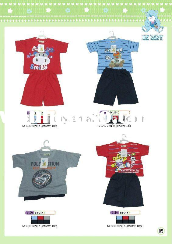 2011 newest design fashion baby boy knit clothing set for hot sale