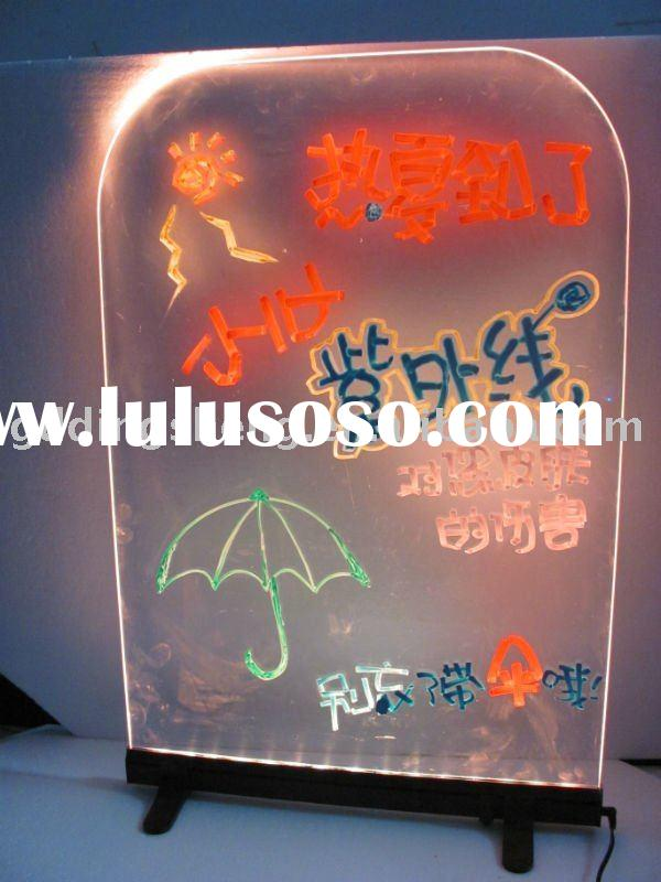 2011 newest led DIY display writing board for advertising