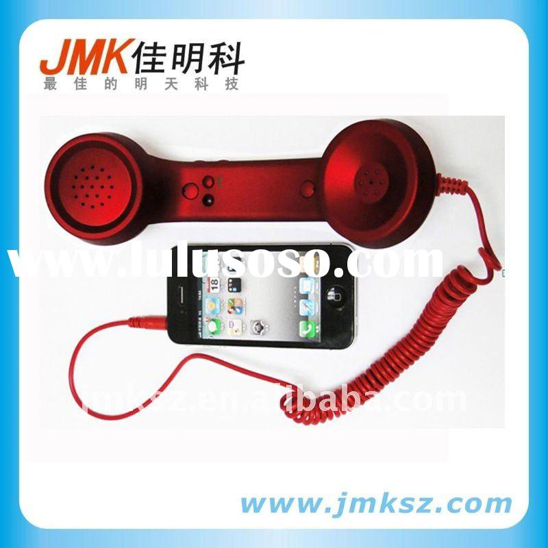 2011 newest retro cell phone receiver for iPhone with one botton