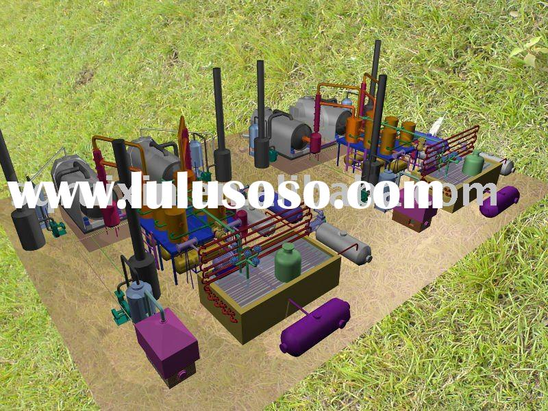 2011 used tire recycling equipment