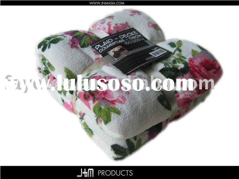 2011 very hot microfiber blanket for good quality