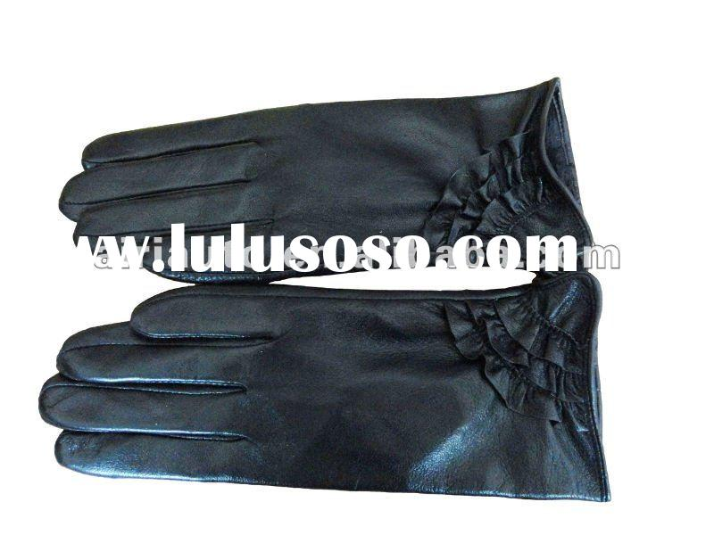 2011 winter fashion leather gloves
