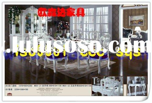 2012 European Style Wooden Table & Chair